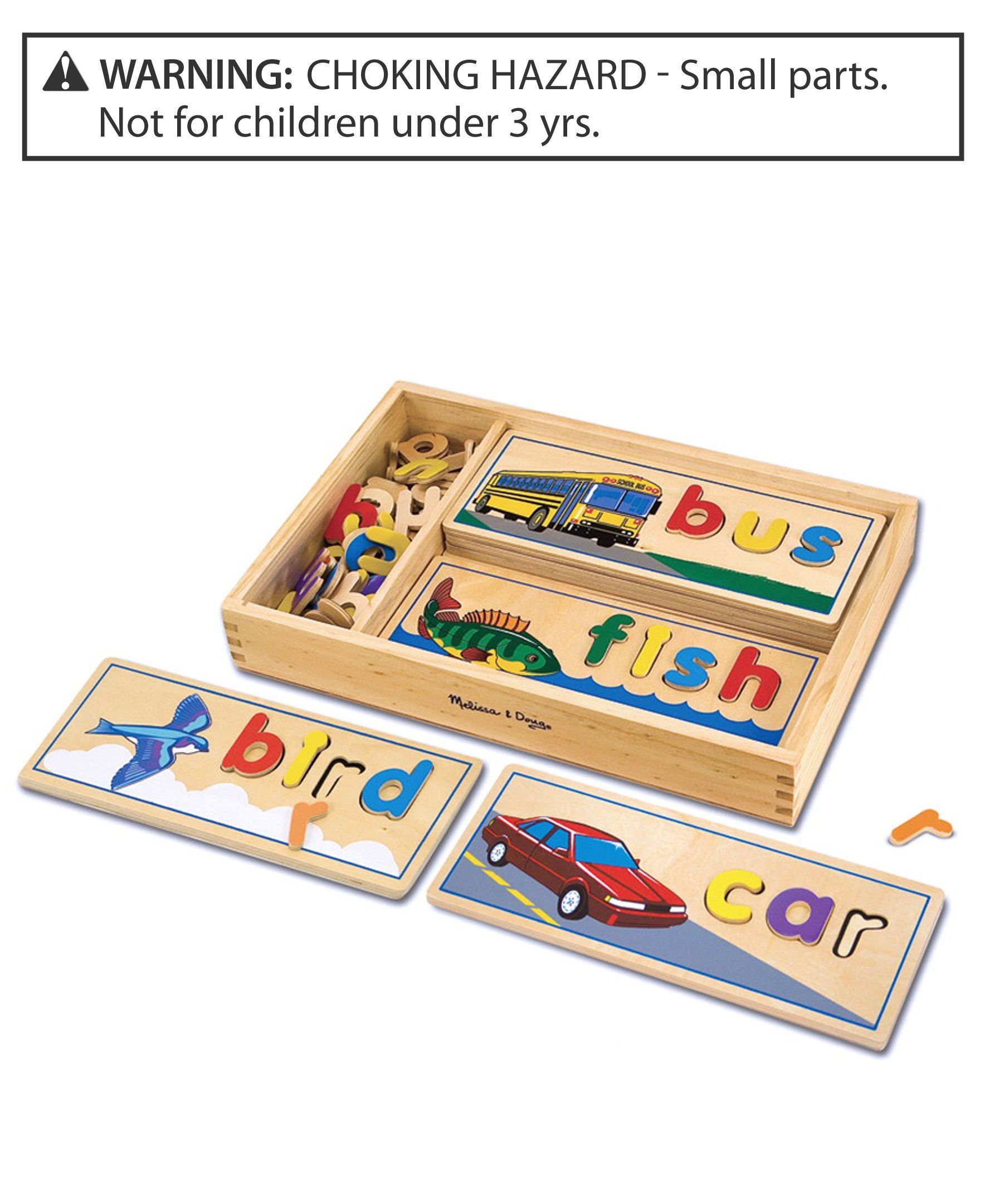 Melissa And Doug Toy, See And Spell