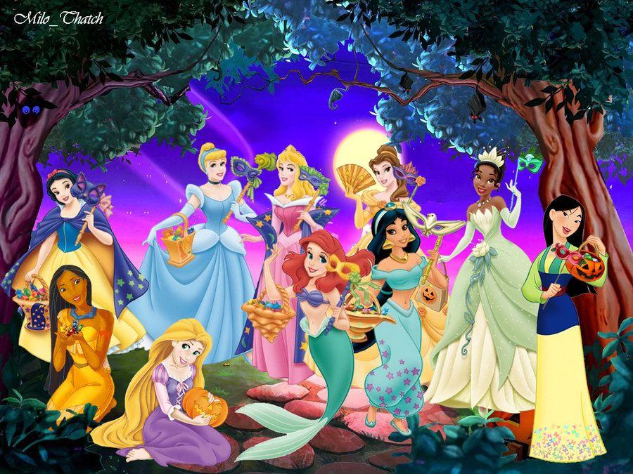 Disney Princess Halloween (id 107276)