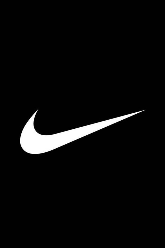 It Is Black Paper With A Painted Nike Sign On It Nike Wallpaper Nike Background Nike Logo Wallpapers