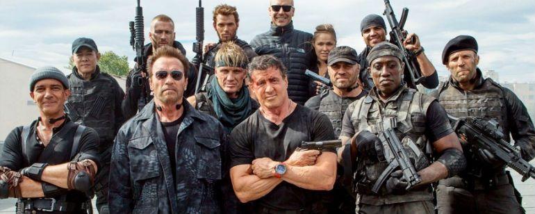 'Los Mercenarios 4' se estrenará en 2018 y será la última entrega de la saga  Noticias de interés sobre cine y series. Noticias estrenos adelantos de peliculas y series