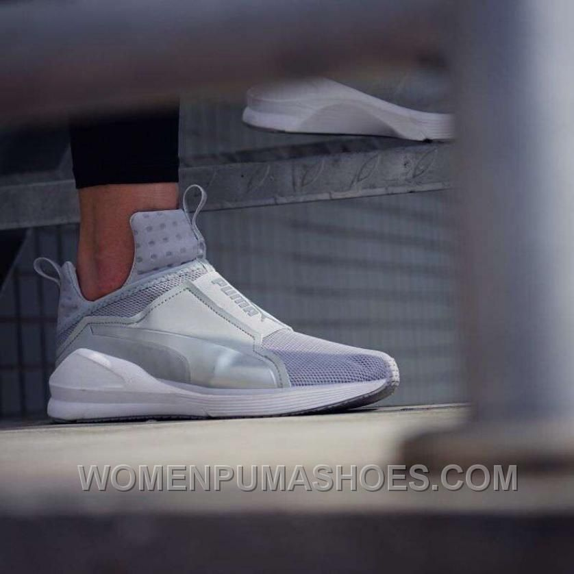 Puma X Rihanna Fenty Trainer HI Silver