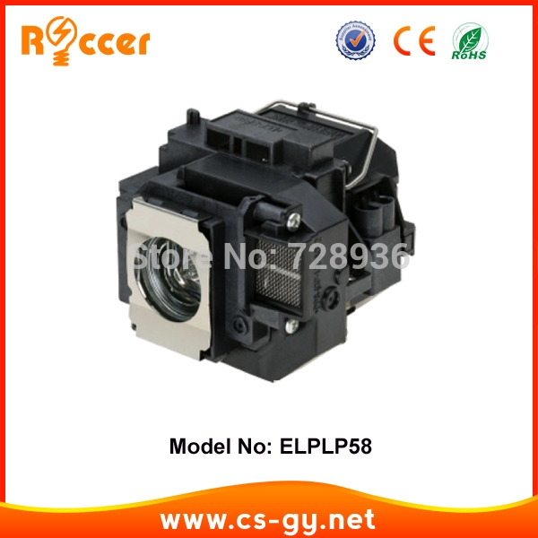 39.00$  Buy now - http://alivlf.shopchina.info/1/go.php?t=1403076743 - Compatible Projector Lamp Bulb ELPLP58 V13H010L58 For Epson EB-S10 lampada projector ELPLP-58  #buyonline