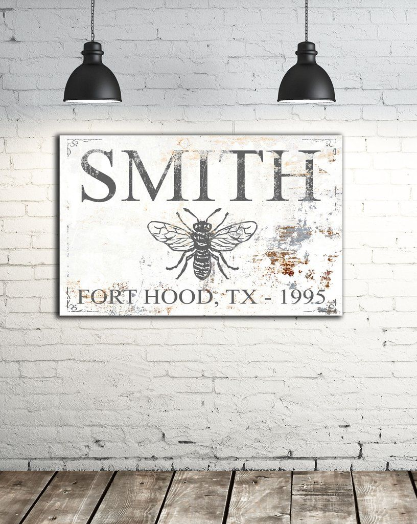 , Honey Bee Farm Personalized Name Sign Canvas Wall Art  NLSC0128 – 72 x 40, Family Blog 2020, Family Blog 2020