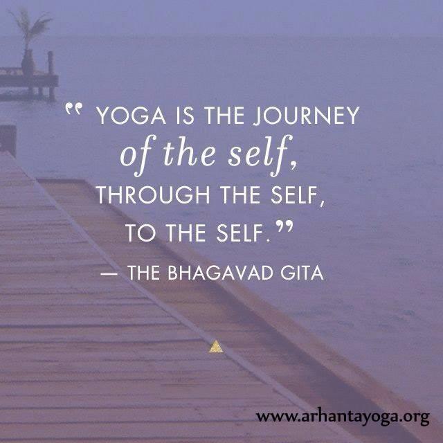 Yoga Is a Journey, Not a Destination