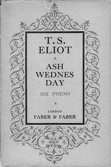 ash wednesday eliot # 15