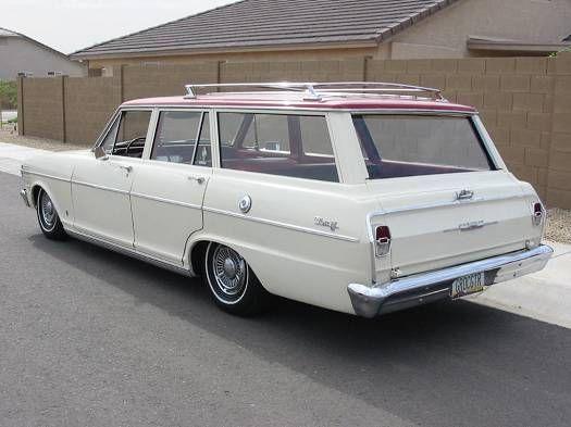 1963 Chevrolet Nova Station Wagon Station Wagon Car Station