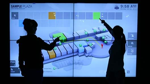 Large Touch Screen >> Multi Touch Lcd Screens Are Taking The Place Of The
