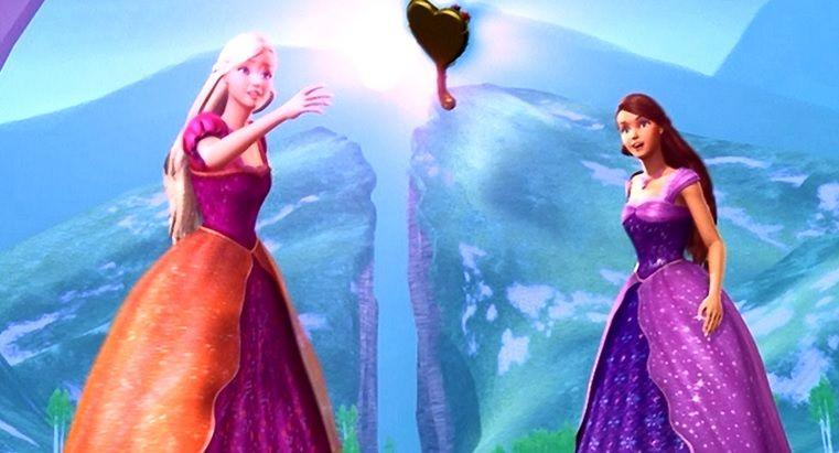Barbie Diamond Castle Letting The Mirror Transform Filmes Da