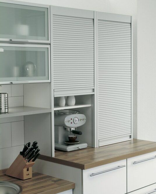 Kitchen Cabinet Shutters Roller Shutters Photos En 2019