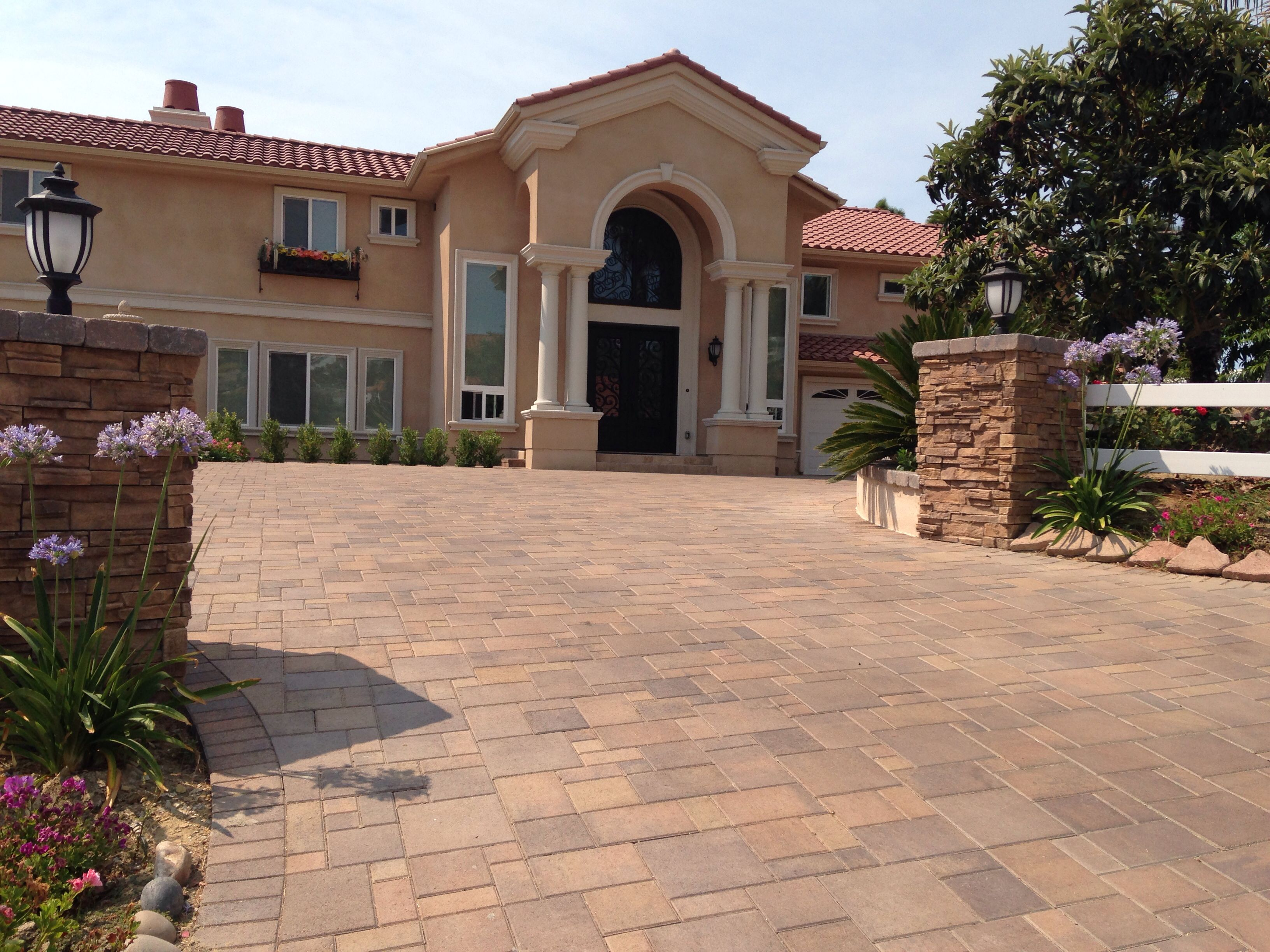 Orco Tuscany 5 Piece Villa Pavers For A Magnificent