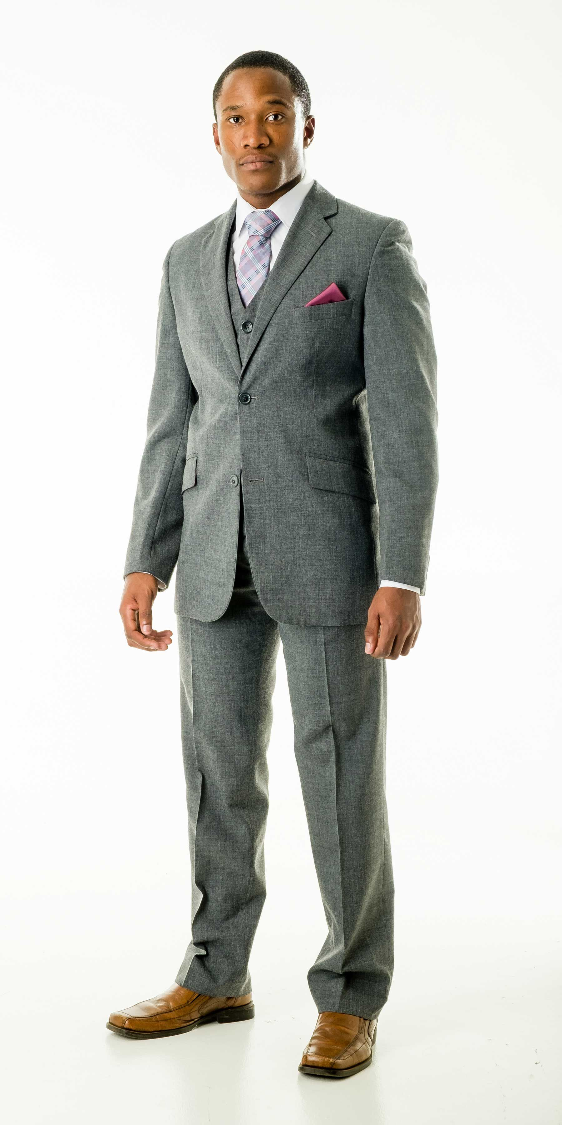Astra Grey Suit from Suit Yourself Durban Wedding suit