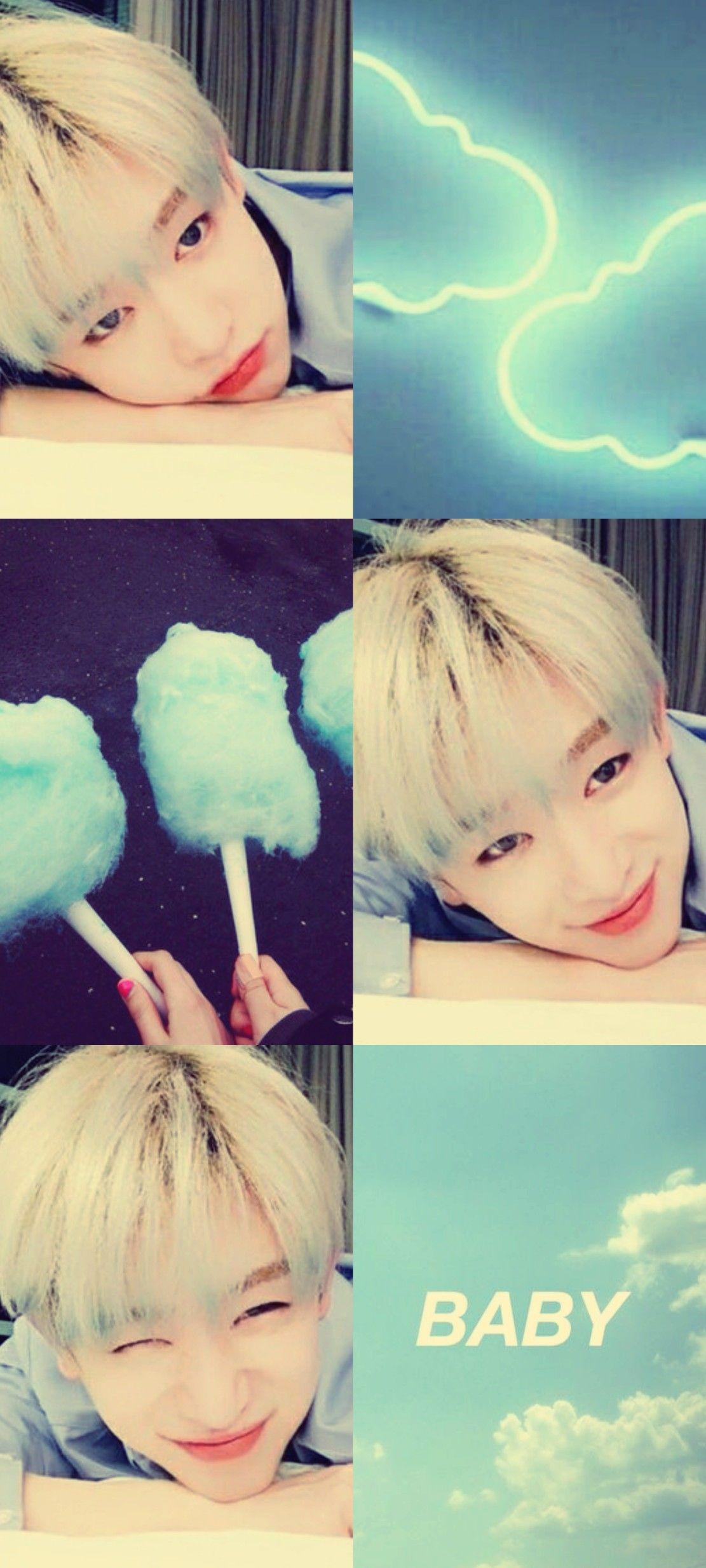 Monsta X Wonho Baby Aesthetic Wallpaper Monsta X Wonho Monsta X Kpop Wallpaper