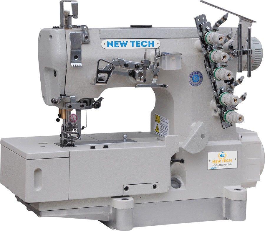 New Tech Gc 562 01da 3 Needle 5 Thread Direct Drive Coverstitch
