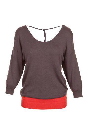 Naf Naf bicolor sweater