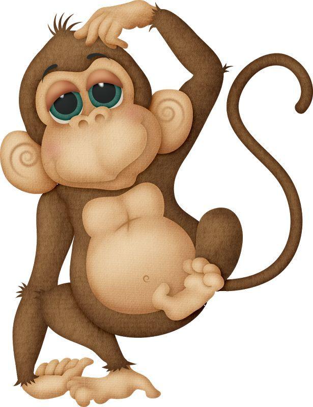 Новым, картинка из мультиков прикольной обезьянки