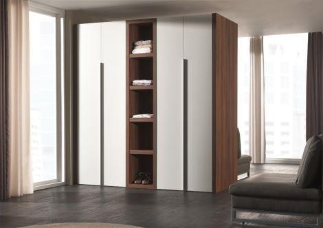 Opklapbed In Kast : Kast opklapbed loft kledingkasten met boekenkast slaapkenner
