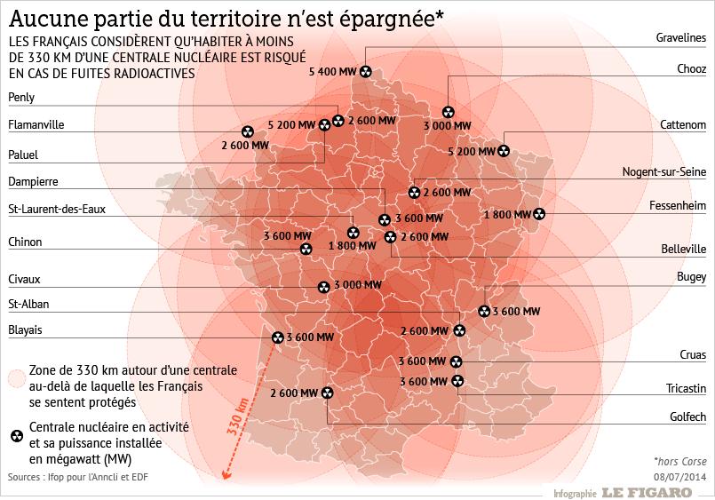 Le nucléaire, une énergie méconnue et crainte   Carte de france, France, Centrale nucléaire en ...