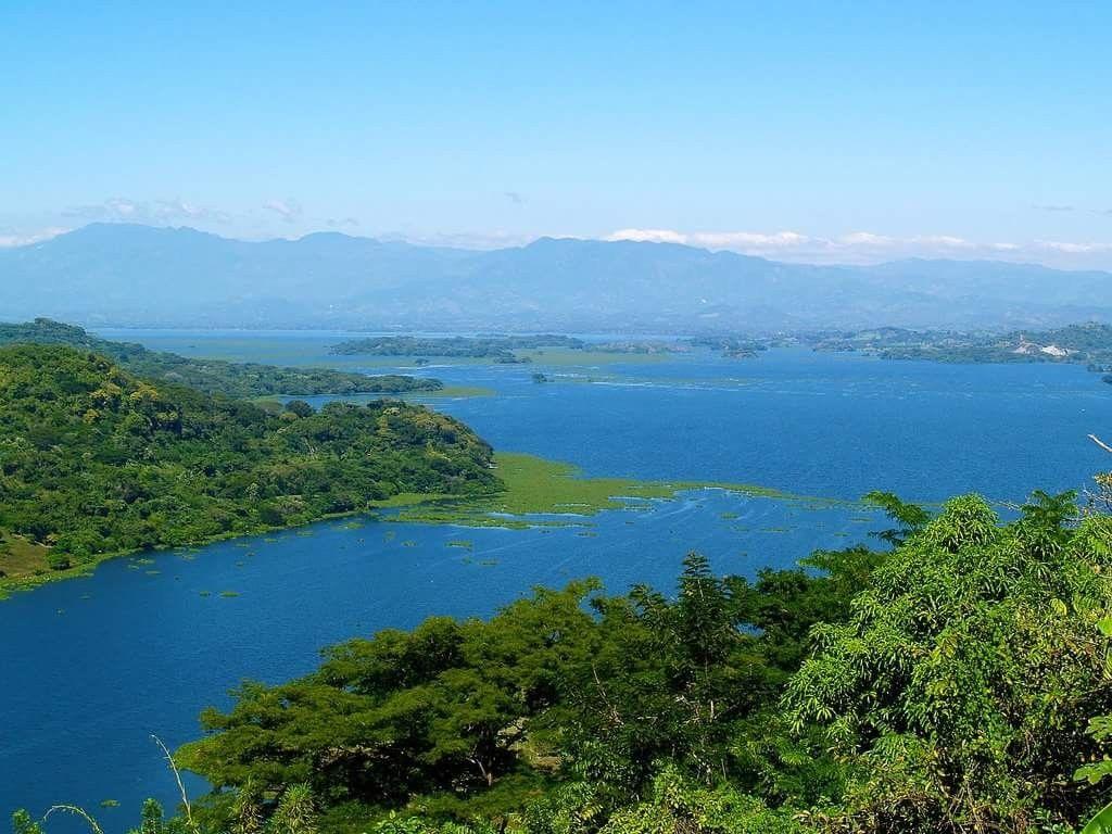 Lago mas grande del mundo