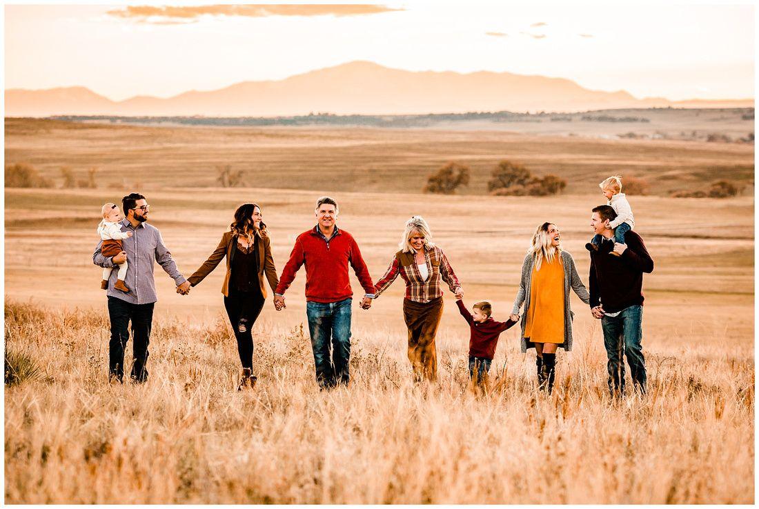 The McCoy Family // Kiowa Colorado Extended Family Photographer