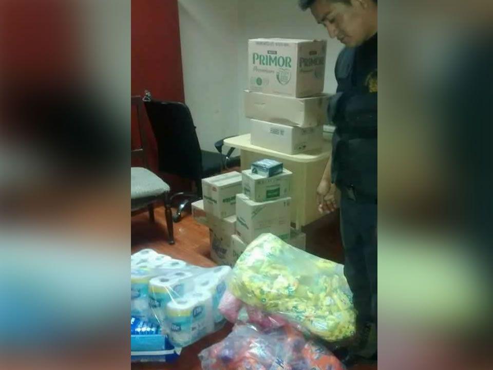 Huacho: capturan a presuntos asaltantes de almacen
