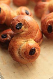 Fika la Pause Gourmande: Brioches au safran de la Sainte-Lucie