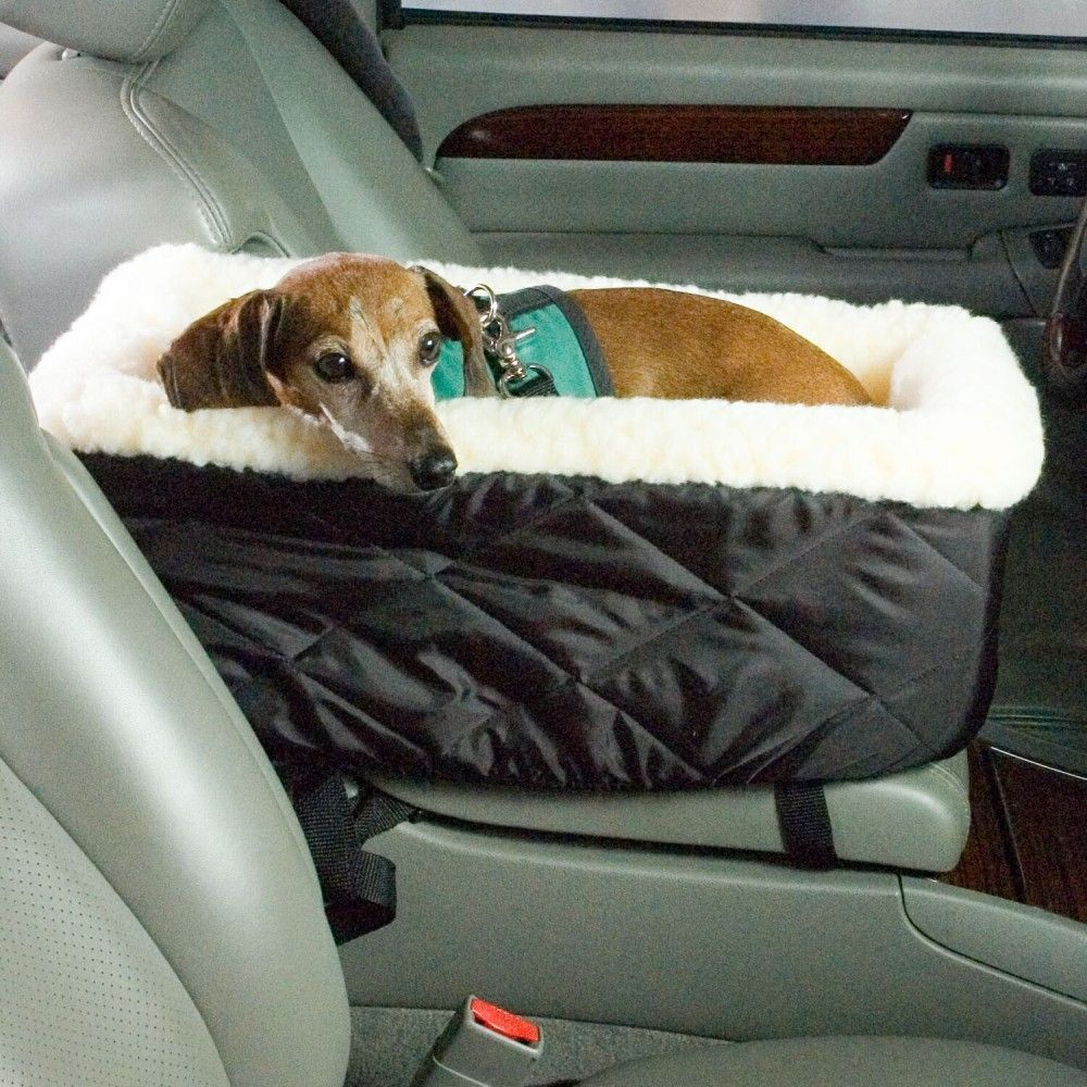 Snoozer Console Dog Car Seat Removable Cover Secure Straps