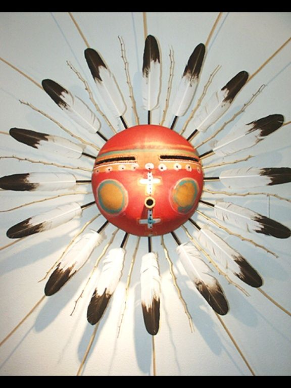 Gourd Mask...could be made into clock