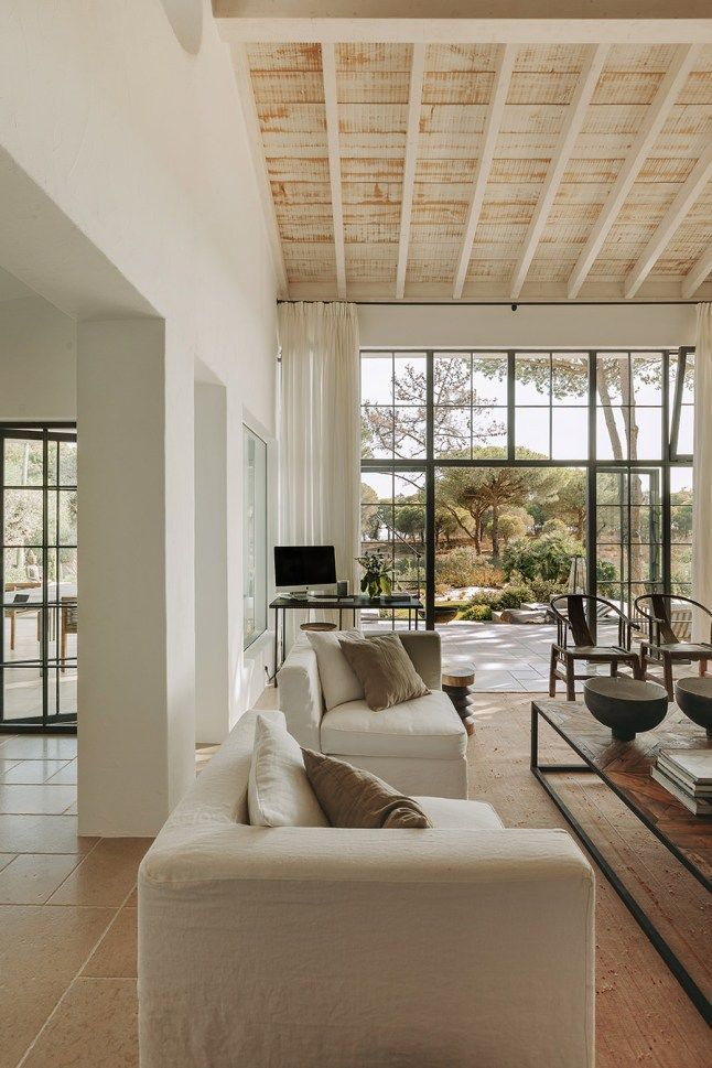 Photo of A Portuguese house renovated in natural tones (PLANETE DECO a homes world)