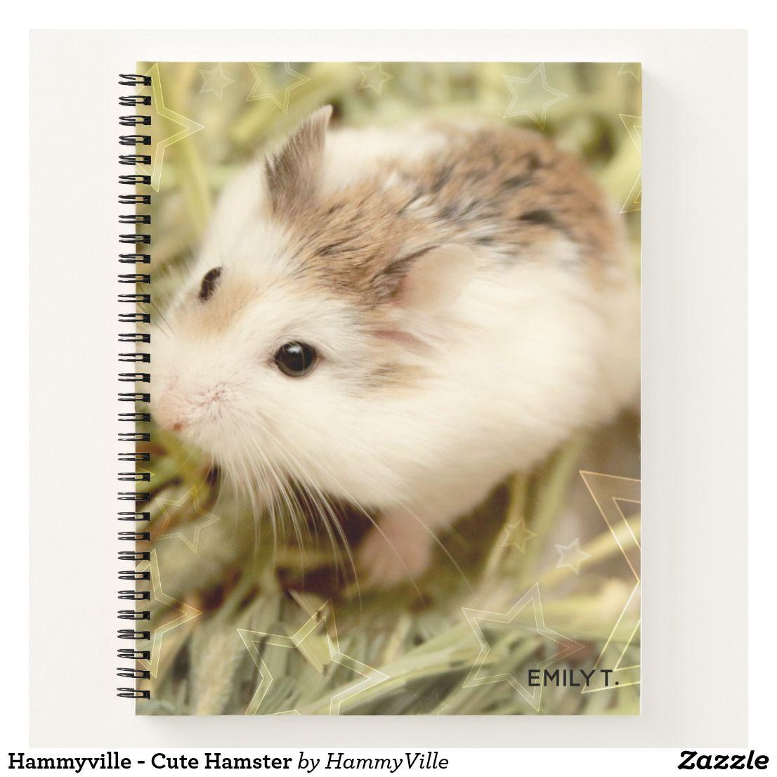 Hammyville Cute Hamster Notebook Hammyville Hamster Personalized Personalizedgifts Cuteanimals Shopping Gifts Hamster Baby Hamster Notebook Features