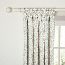 241cb3d9b19b Buy John Lewis Sherwood Lined Pencil Pleat Curtains, Duck Egg Online at  johnlewis.com