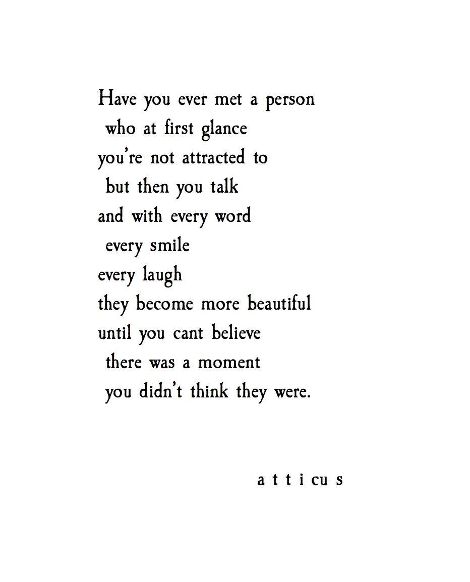 'Those Beautiful People' @atticuspoetry #atticuspoetry