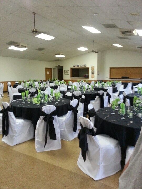 Pin by Agatha Tomboer on Black  Lime Green Wedding Decor in 2019