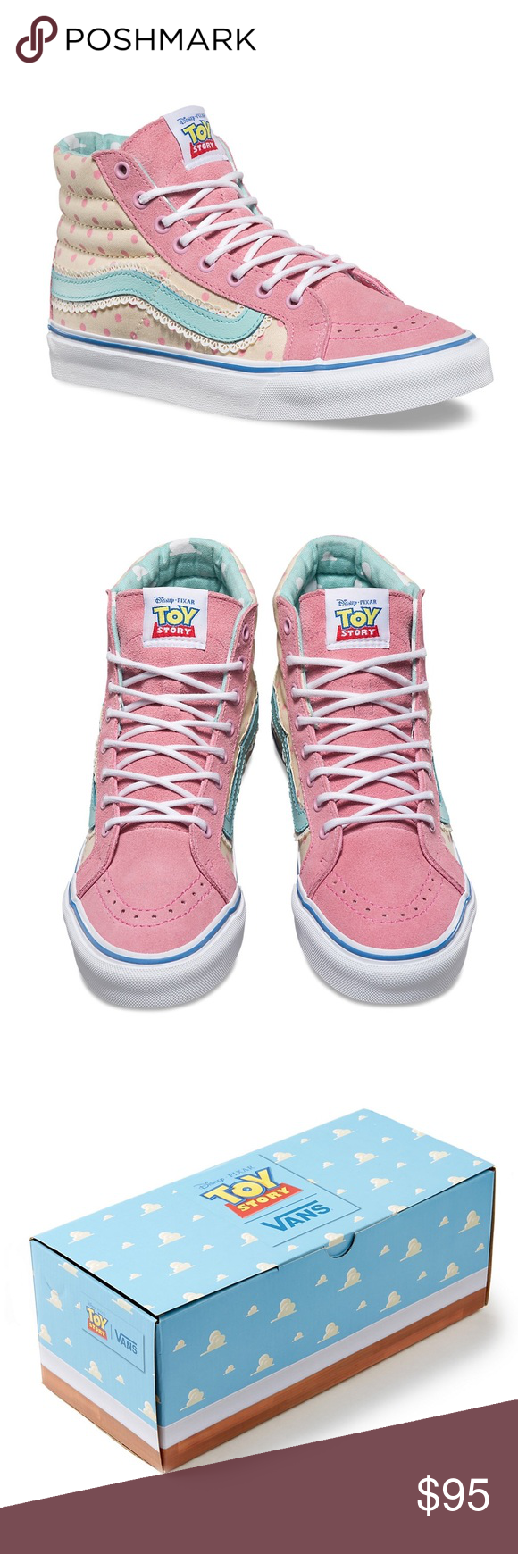 bb40a432565 ✨Bo Peep Vans TOY STORY SK8-HI SLIM ✨ SOLD OUT   Limited Edition ...