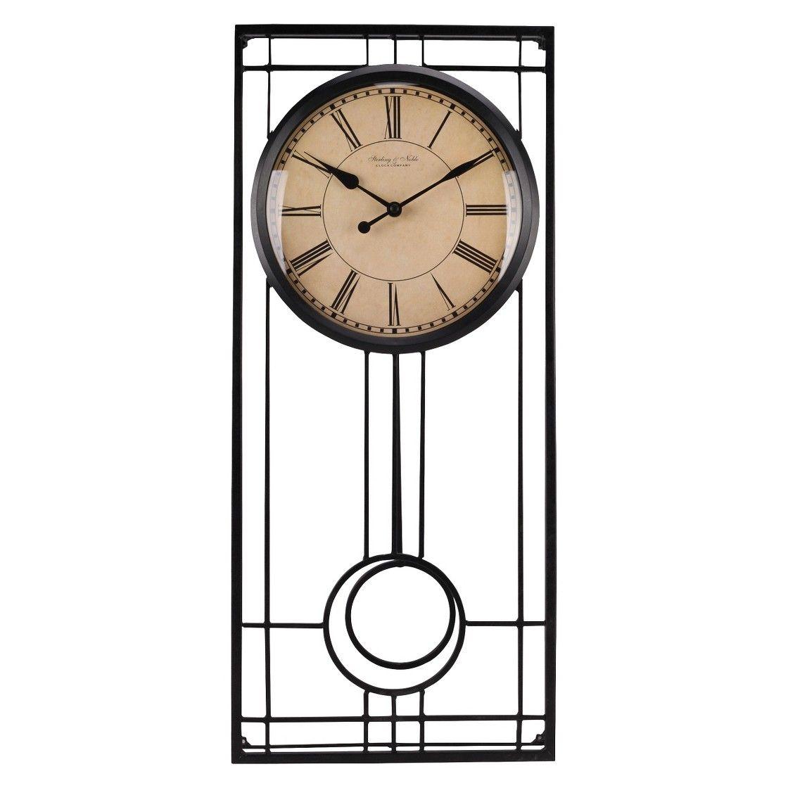 Threshold Pendulum Wall Clock Wall Clock Pendulum Wall Clock Traditional Wall Clocks
