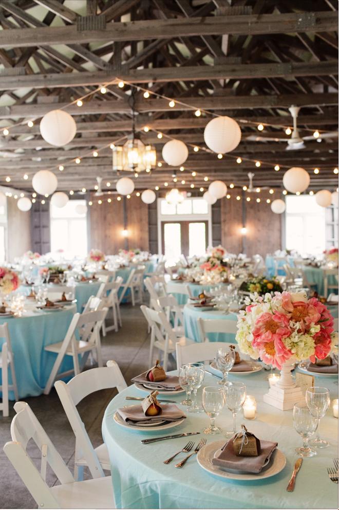 Rustic Elegance Reception Decor | Michigan wedding venues ...