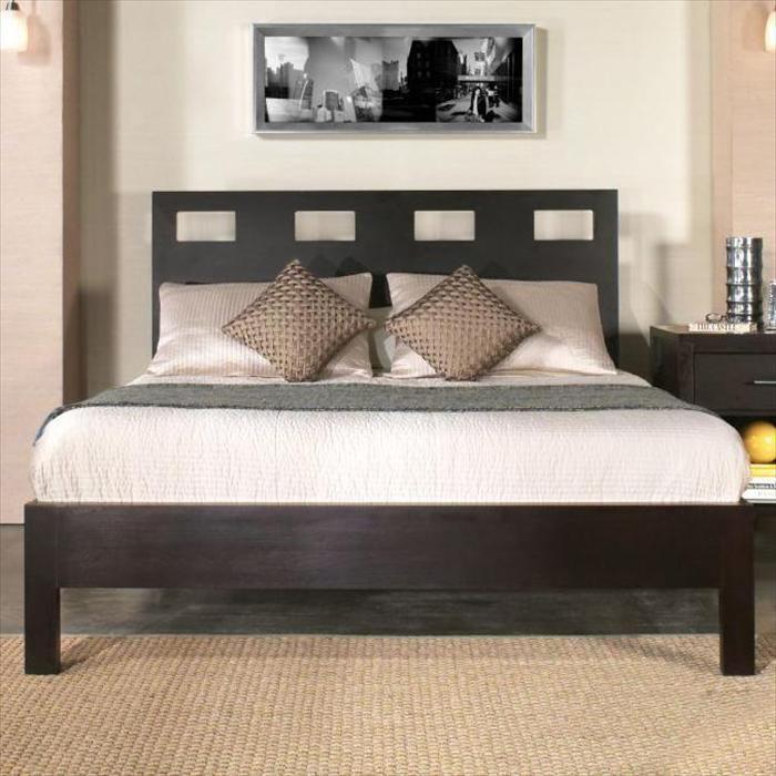 Queen Platform Bed in Espresso   Nebraska Furniture Mart. THE WINNER ...
