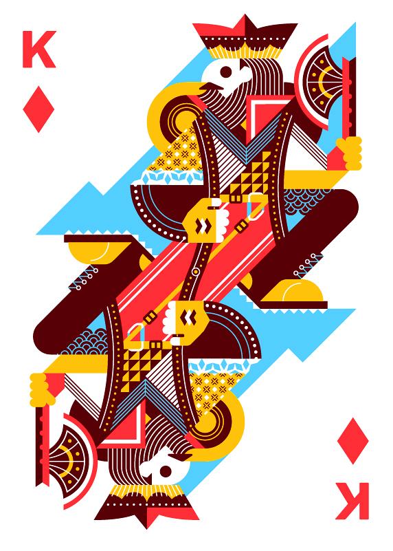 Pin de Albert Yih em Illustrated Jogo de cartas baralho