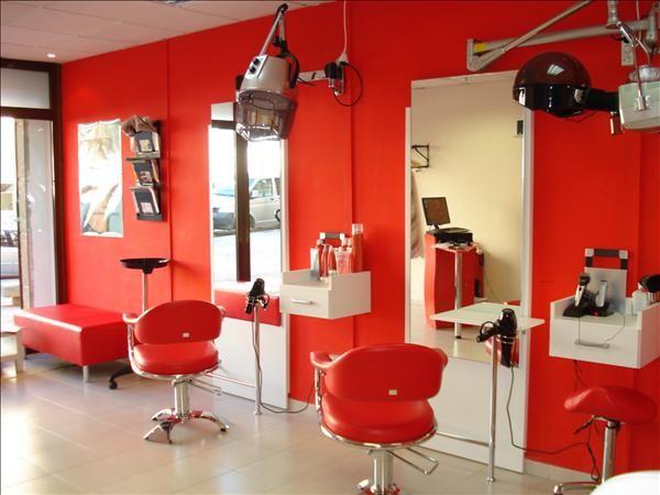 Peluqueria decoracion peluqueria salons pinterest - Decoracion de peluqueria ...