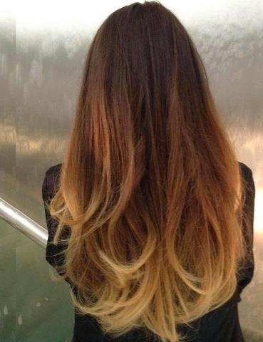 Haare Blondieren Aufhellen Ombre Look Welche Farbe Wie Farben
