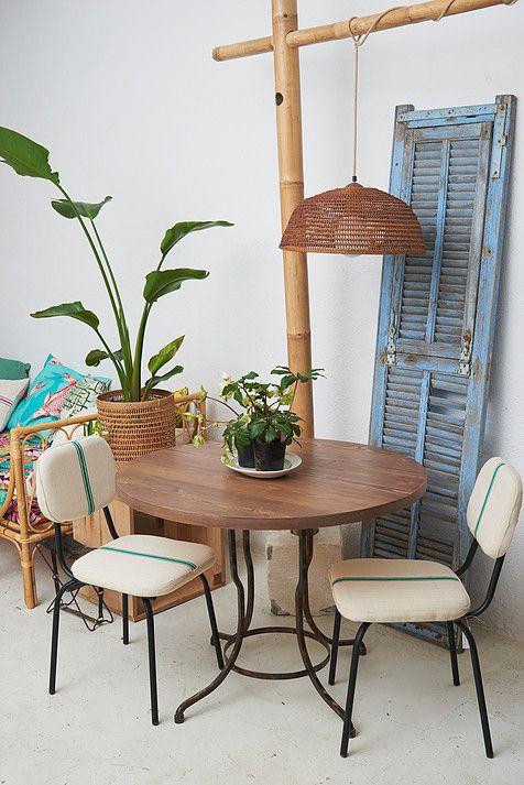 Calma Chechu, construye muebles de estilo industrial, vintage y rural | Mesas