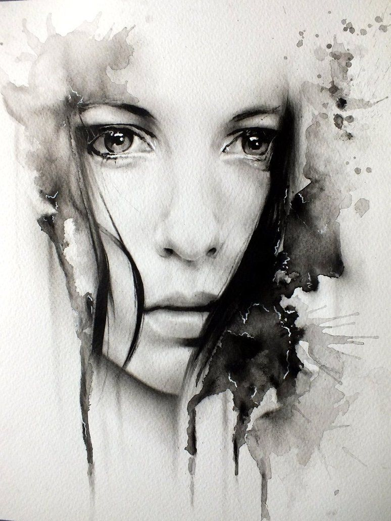 Illustrations By Glen Preece Watercolor Portraits Artwork Art