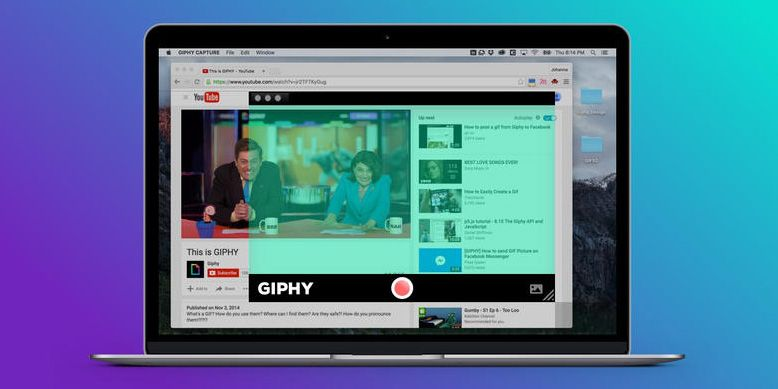Giphy Capture for OS X lets you record GIFs from your