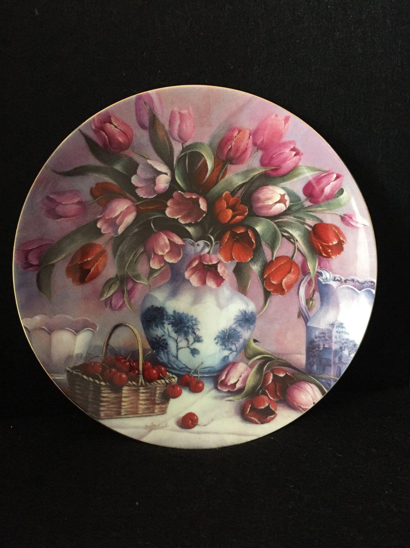 Wedgwood Decorative Plate \u0027Pink Sonata\u0027 Music of Flowers Collection & Wedgwood Decorative Plate \u0027Pink Sonata\u0027 Music of Flowers Collection ...