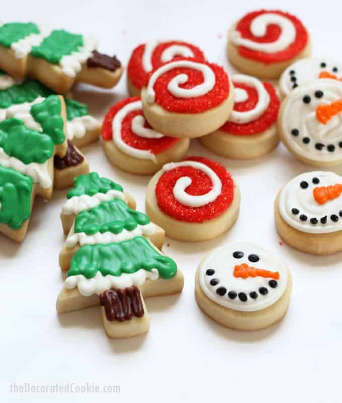 decorated christmas cookies no fail cut out cookie and royal icing recipes decorated christmas cookies christmas cookies and decorating