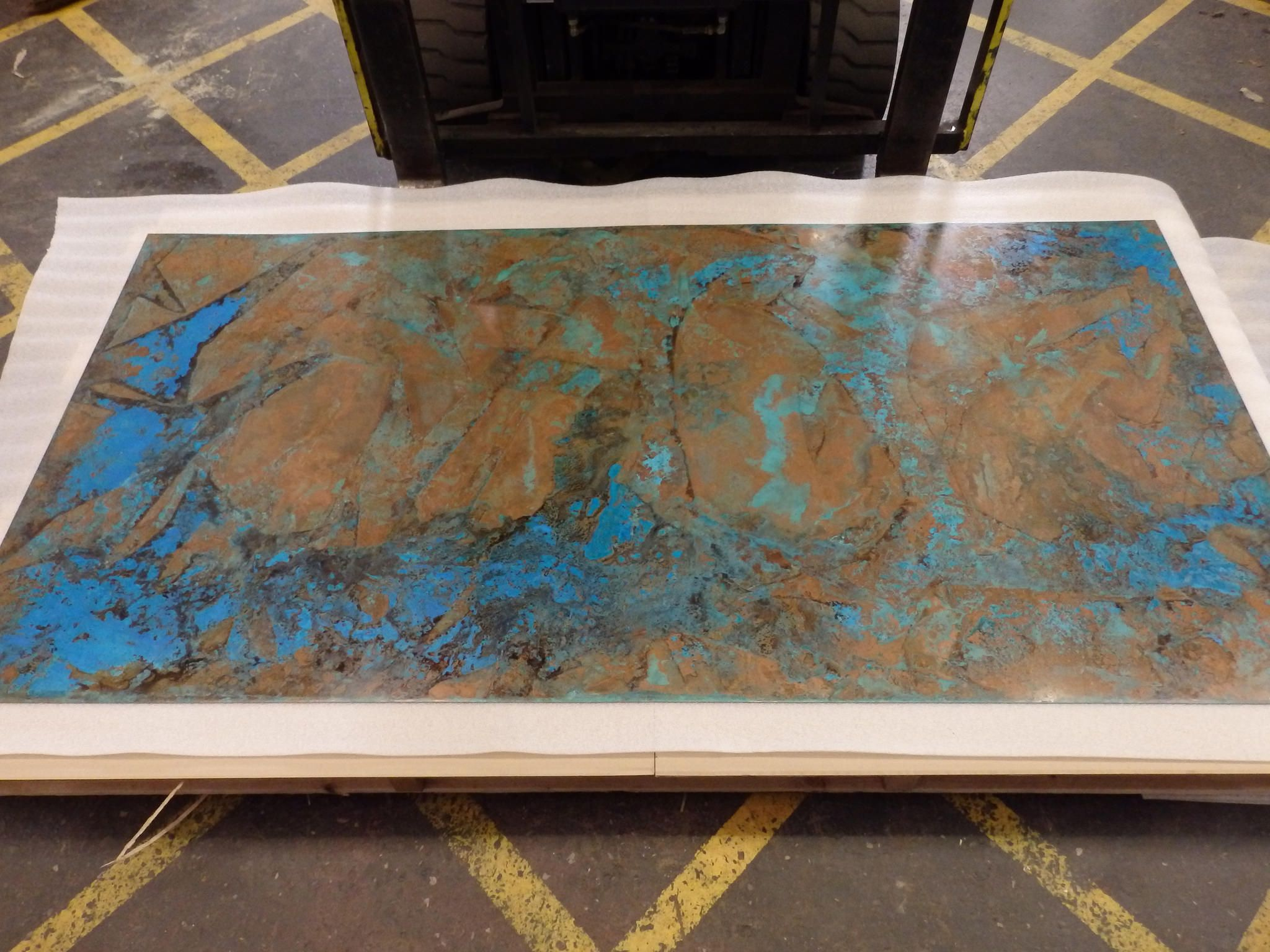 how to patina copper sheets