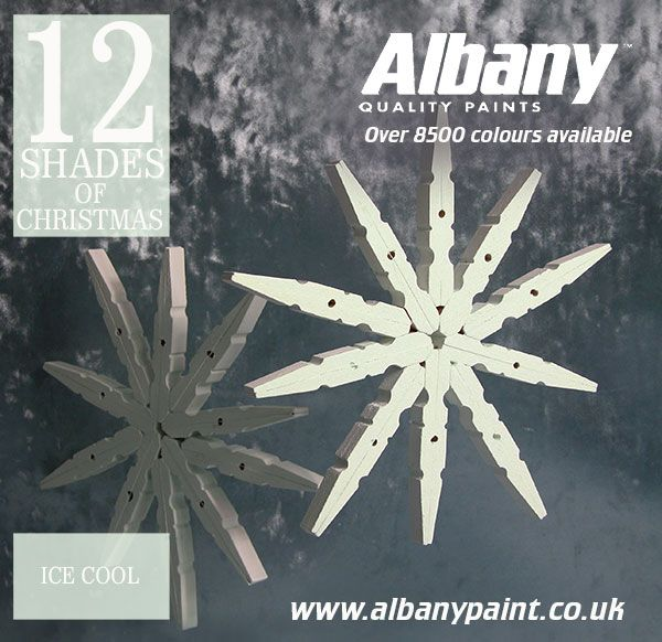 Ice Cool from Albany Paint.  www.albanypaint.co.uk