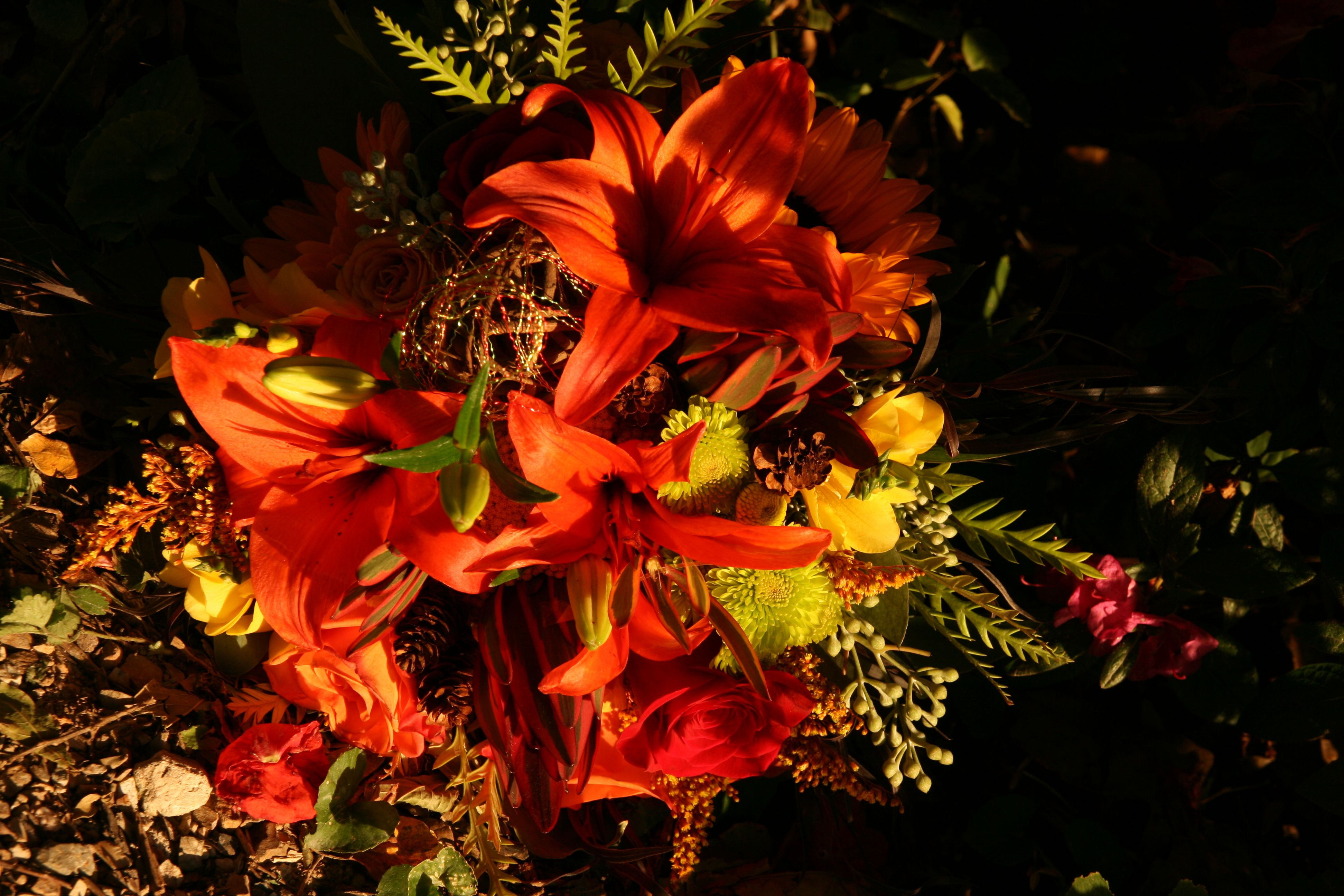 This Bouquet Makes A Vibrant Statement Especially For Summer And