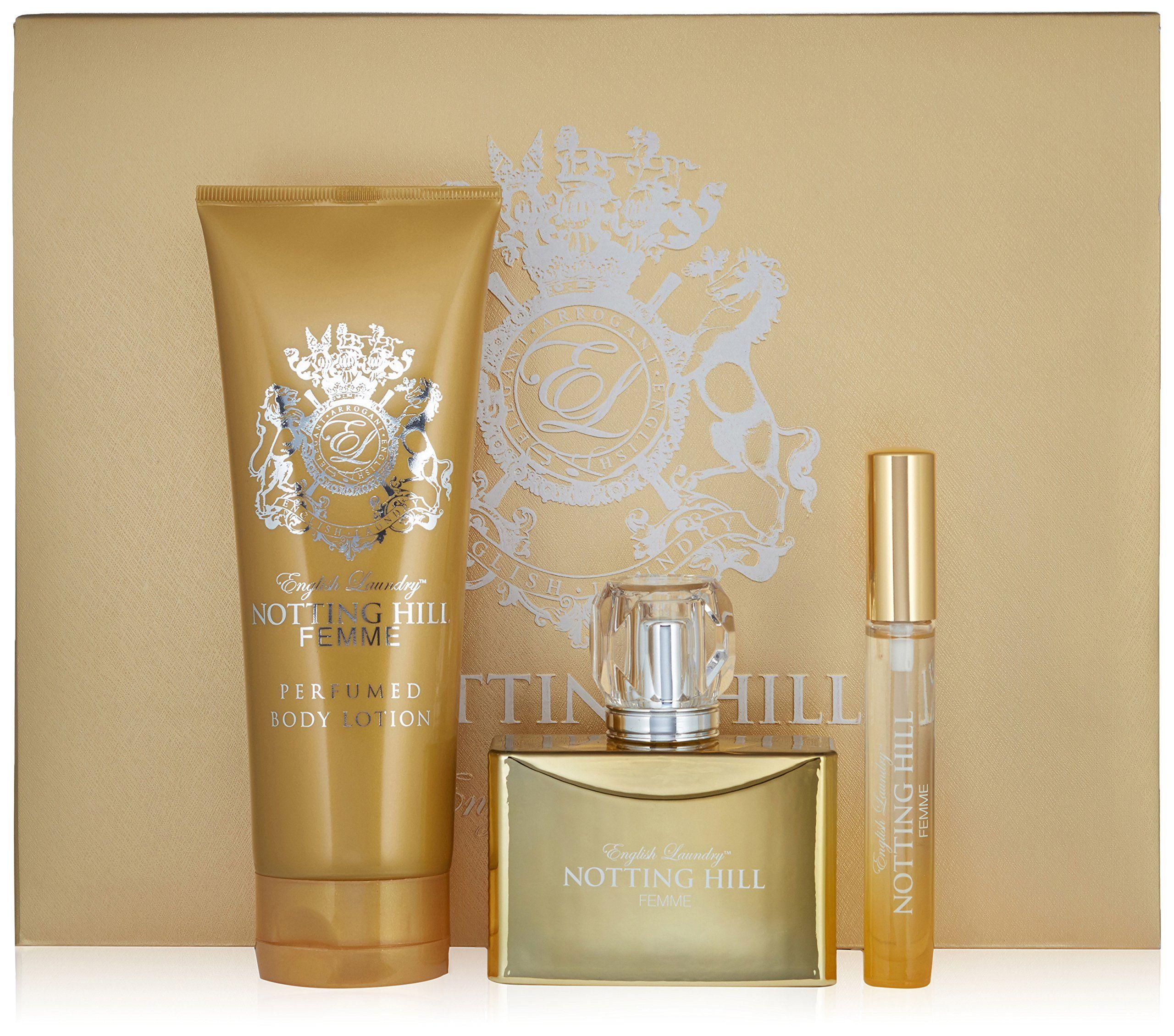English Laundry Notting Hill Femme Eau de Parfum Spray Gift Set, 3.5 lb.