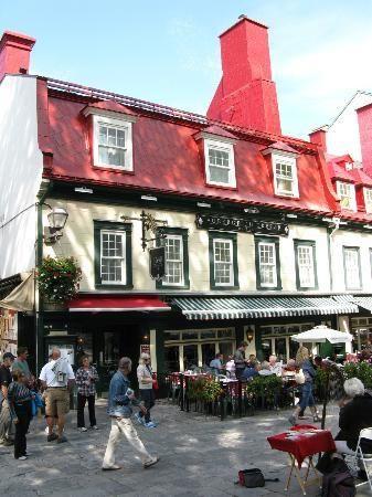 Quebec City Restaurants And Patio Picture Of Restaurant 1640 Tripadvisor