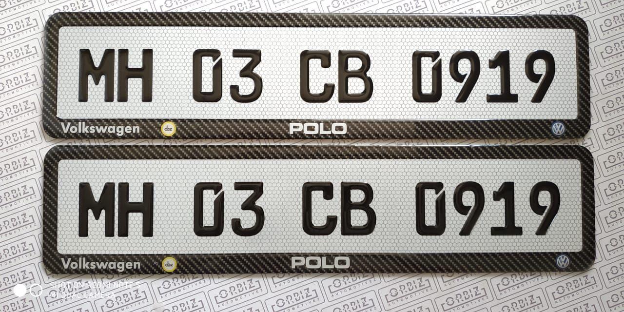 Orbiz German Number Plate Design Number Plate Online Design